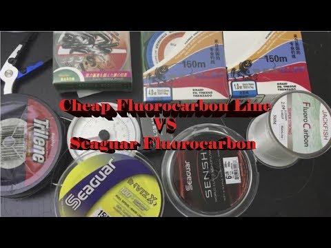 Aliexpress Fishing Lines Reviews Fluorocarbon Vs Monofilament Seaguar