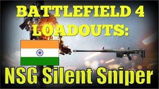 Battlefield 4 Loadouts: NSG Silent Sniper (Sneaky Kills)