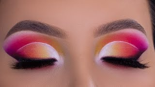 NEW ABH NORVINA COLLECTION VOL.1 EYESHADOW PALETTE | Cut Crease Tutorial