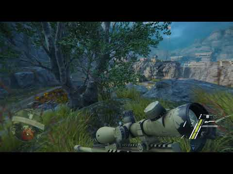 Sniper Ghost Warrior 3 – The Sabotage DLC – Clearing Enemy Outpost |