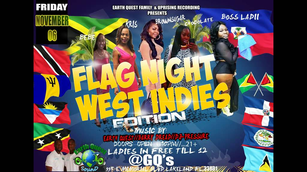 WEST INDIES FLAG BASH GQs NOVEMBER 06 2015