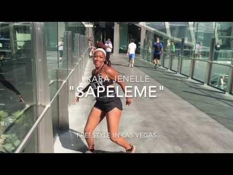 """Sapeleme"" Afrobeat Dance Freestyle -Kara Jenelle"