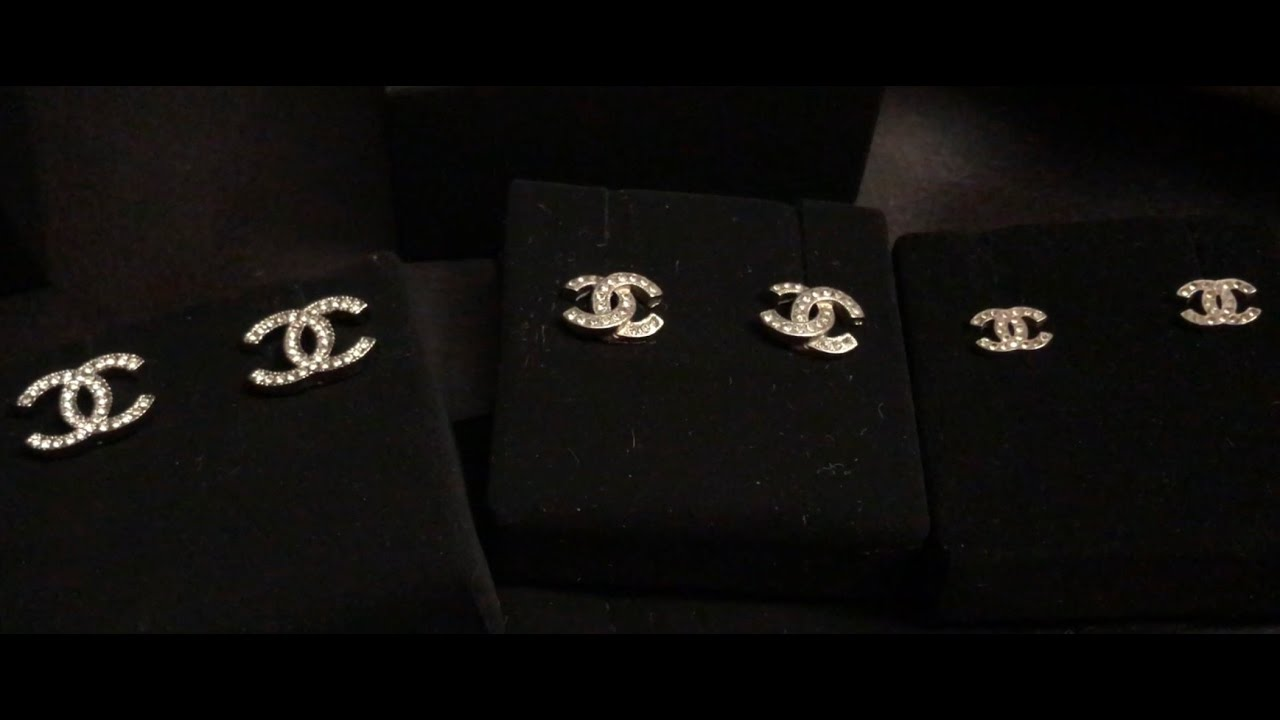 Chanel Cc Earrings Unboxing Comparison