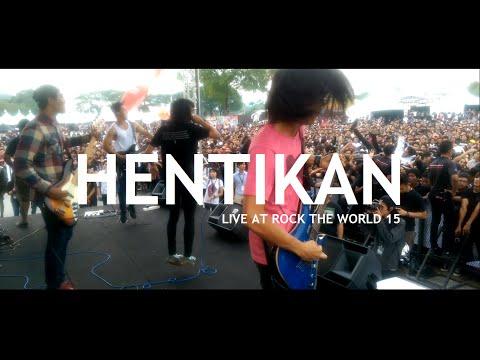 Sekumpulan Orang Gila // Hentikan (live @ Rock The World 15) [STAGE CAM]