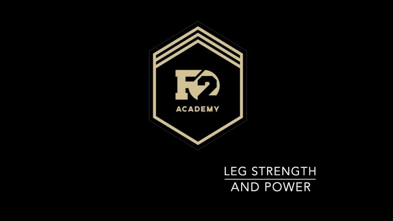 LEG STRENGTH AND POWER