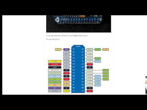 NodeMcu : Programmation d'un capteur de température