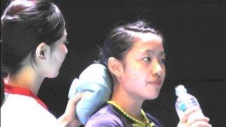 Badminton Nozomi Okuhara[Japan] vs TAI Tzu Ying[TPE]-2G WS SemiFinal YONEX Open Japan 2015.9.12
