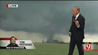 News9 Live Tornadoes on May 9, 2016 (Wynnewood, Katie, Sulphur, Stillwater Tornados)