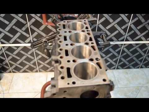 Montagem do Ford Endura 1.3 Parte 2 - Orlando MotorFecFire