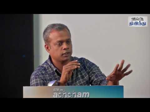 I cant cry here like Sivakarthikeyan: Gautham Menon Speech in AYM Press Meet