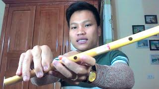 Cách bấm và thổi 19 nốt cơ bản trên cây sáo 6 lỗ - hocsaotruconline.com