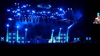 Kiss - Live in Adelaide 2013 - Lighting Gantry Fire + Crazy Crazy Nights