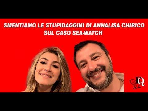 Smentiamo Le Stupidaggini Di Annalisa Chirico Sul Caso Sea-Watch