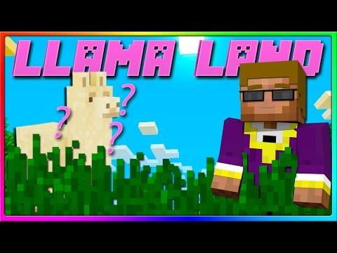 Minecraft Llama Land - OBAMA LLAMA! (Episode 1 of Llama Land Server 1.11)