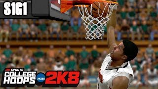 TOO HOT! - COLLEGE HOOPS 2K8 LEGACY MODE