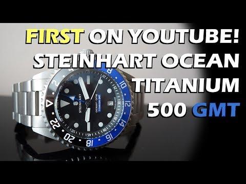 NEW Release! Steinhart Ocean Titanium 500 GMT Premium Automatic Watch Review - Perth WAtch #72