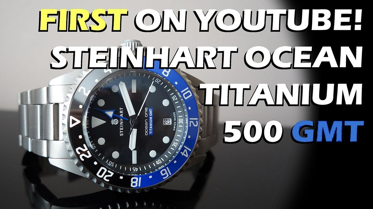 Steinhart ocean one premium watch. Automatic. unboxing mini review .