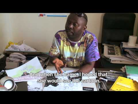 Thembo Kash: Cartooning for Justice (DRC)