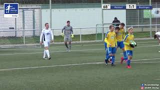 A-Junioren - 1:1 - Nick Huller - FC-Astoria Walldorf gegen SSV Reutlingen 1905 Fußball