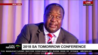 Tito Mboweni addresses the SA Tomorrow Investment Conference 2018