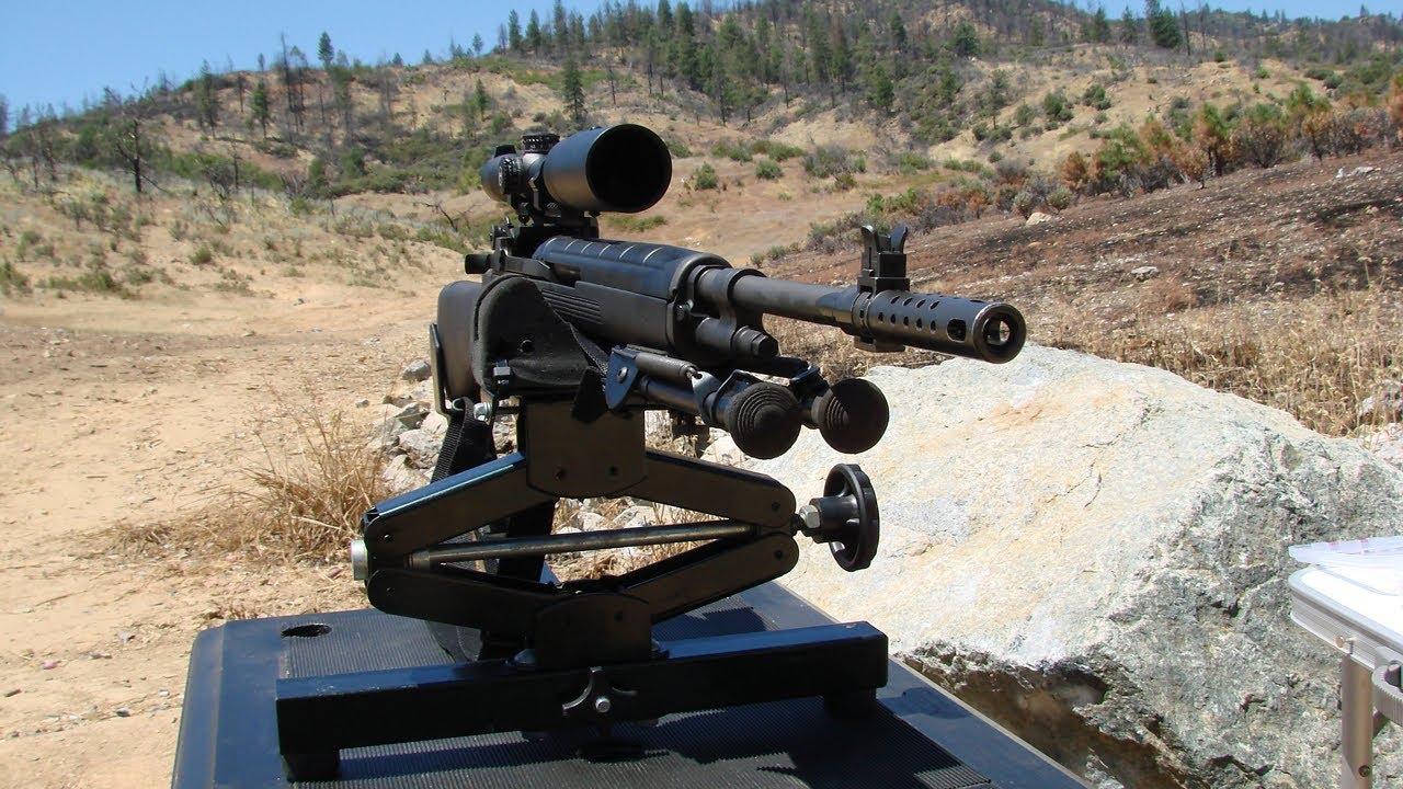 Обкатка ствола винтовки. М1А -  вторая часть