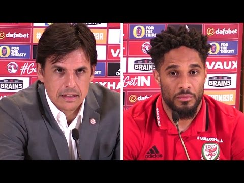 Chris Coleman & Ashley Williams Pre-Match Press Conference - Ireland v Wales