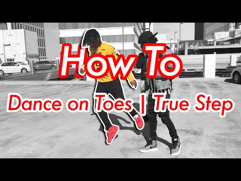 How to Dance on Toes | True Step | Mow The Lawn (Official NRG Video)