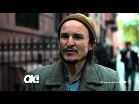 Damon Herriman gives details of his role in the Flesh & Bone