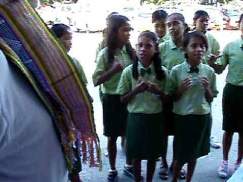 Chegada a Timor em Junho de 2009