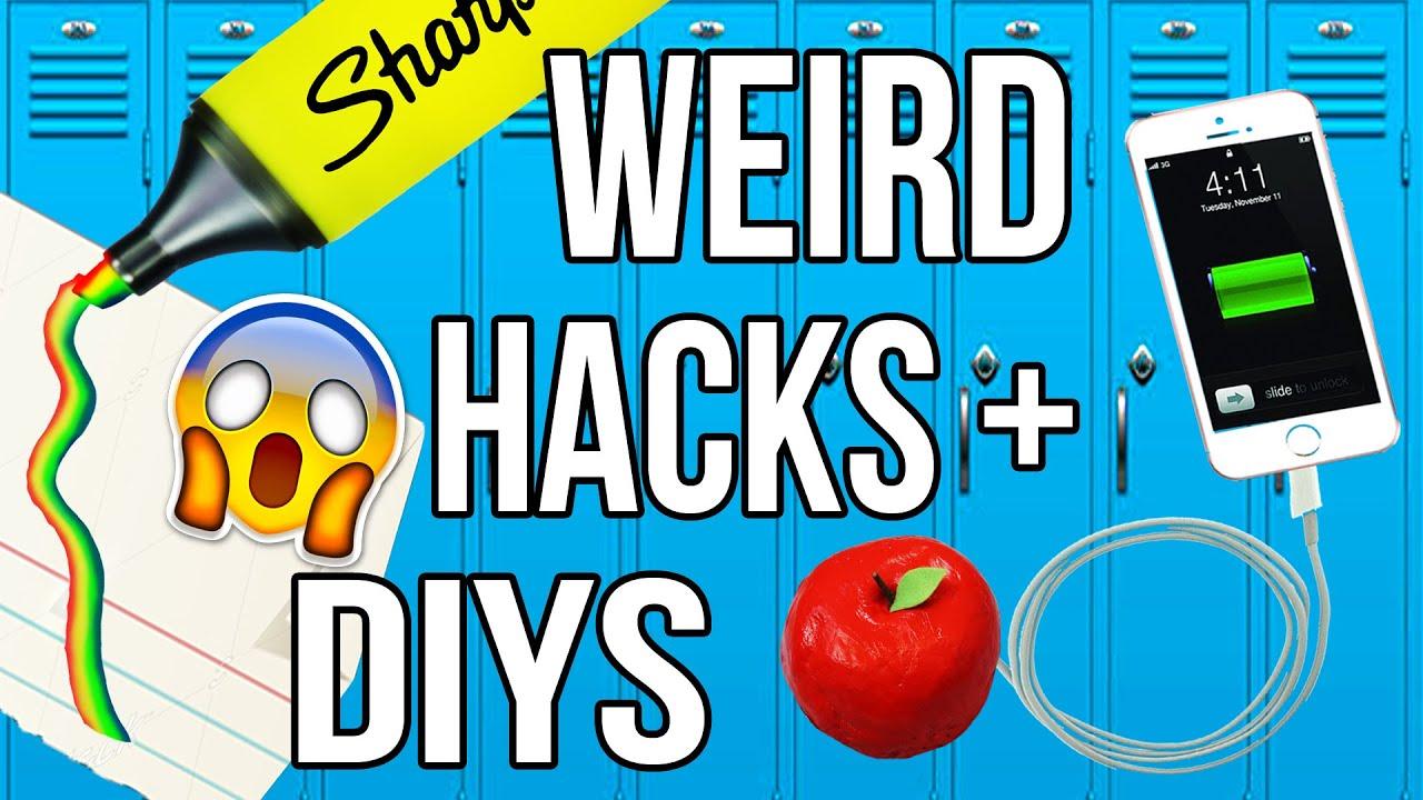 Weird Back To School HACKS & DIYS Tested! - YouTube