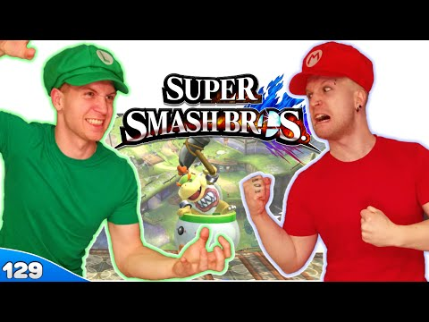 Bros Play Super Smash Bros 4 ✪ ITS HAMMER TIME!! ● Multiplayer #129 - 동영상