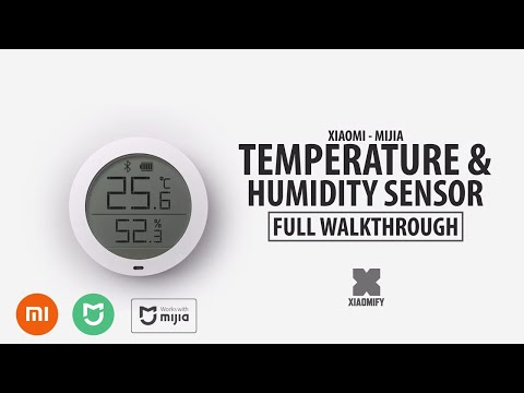 New Xiaomi Smart Temperature & Humidity Sensor [Mijia] Full Walkthrough