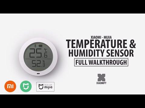 New Xiaomi Smart Temperature & Humidity Sensor [Mijia] Full Walkthrough