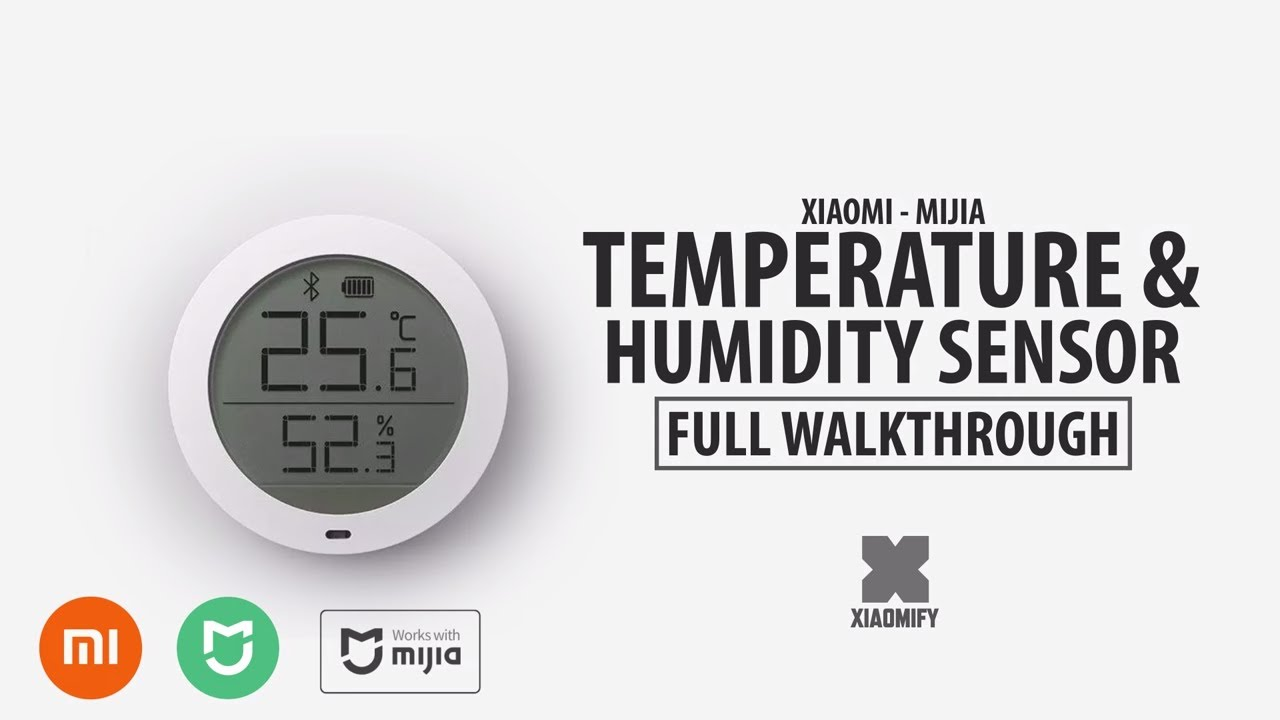 New Xiaomi Smart Temperature Amp Humidity Sensor Mijia