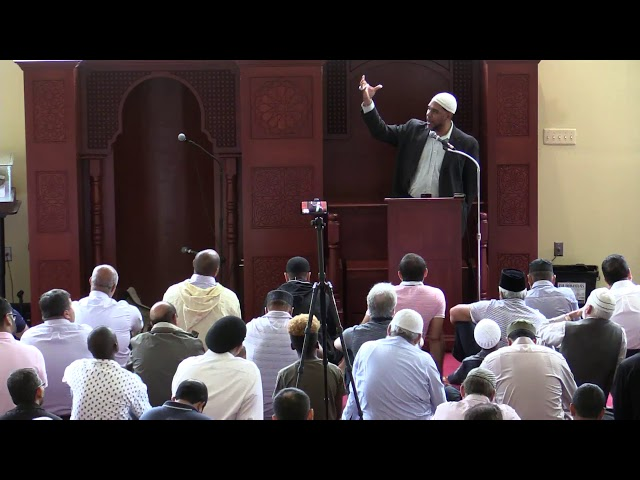 Conquering our Inner Pharoah - Imam Dawud Walid