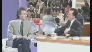 LUTTAZZI intervista TRAVAGLIO (Satyricon 14/03/2001)