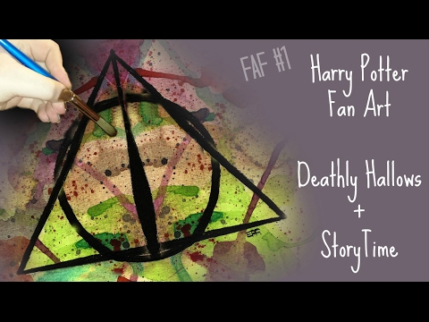 MY MEANEST ART TEACHER STORYTIME | HARRY POTTER SPEED PAINTING