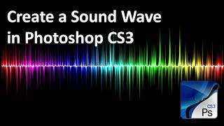 Photoshop-Tutorial: erstellen Sie einen Bunten Sound Wave
