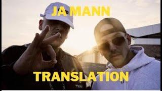 Bonez MC ft Raf Camora Ja Mann! english translation