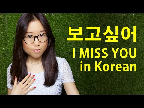 What is i love you too in korean language