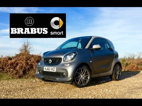 2017 Smart Brabus ForTwo Review - Inside Lane
