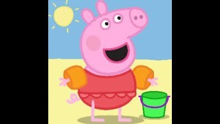 #Puzzle #Peppa At The Beach *** #Drawing And #Coloring For #babies #toddlers #kids