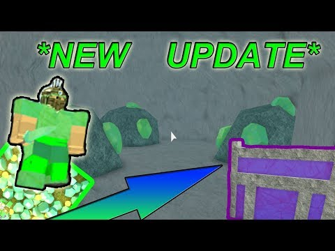 *NEW* UPDATE ( UNLIMITED EMERALDS, NEW BUILDINGS ) - Roblox Booga Booga