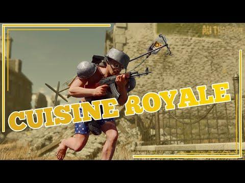 Kuchenny Battle Royale! Gramy w Cuisine Royale z patelnią na...