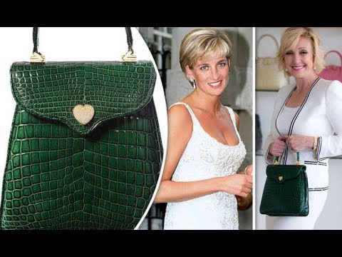 Designer creates one of a kind handbag to mark Princess Diana 20th  Anniversary 05fb3b068a897