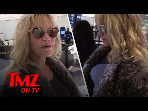 Melanie Griffith Broke Her Toe | TMZ TV