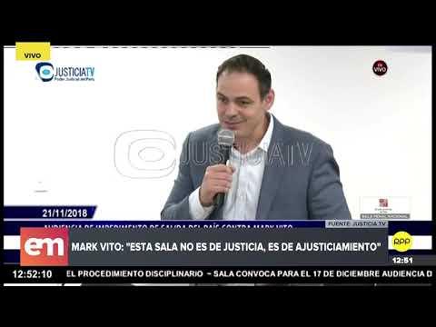"Mark Vito Villanella: ""Si mi delito es ser esposo de Keiko, condéneme a la muerte"""