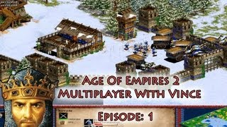 Age Of Empires 2 Multiplayer With Vince - Episode 1 - Well.. That Rush Didn't Go As Planned