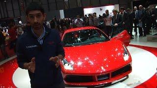 Ferrari 488 GTB, la Rossa che fa sognare tutti | Salone di Ginevra 2015