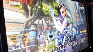 SOMBRA RAW GAMEPLAY! Third person view from BlizzCon show floor. #Overwatch #BlizzCon